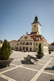 City center of Brasov, Romania Stock Image