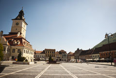 City center of Brasov, Romania Royalty Free Stock Photography
