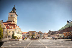 City center of Brasov, Romania Stock Photography
