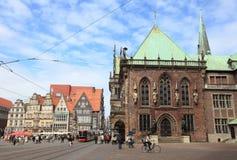 City center of Bremen Stock Photos