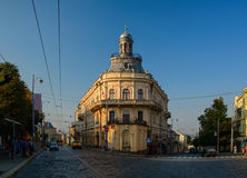 City center of Chernivtsi, Ukraine Royalty Free Stock Photography