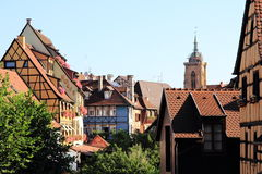 The city center of Colmar Royalty Free Stock Image