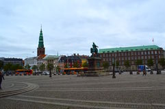 City Center in Copenhagen Royalty Free Stock Photography