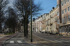 City center of Den Haag Royalty Free Stock Image