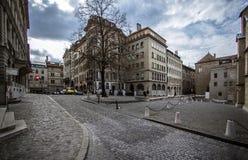City Center in Geneva Stock Photo