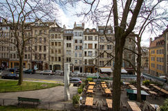 City Center in Geneva Royalty Free Stock Image