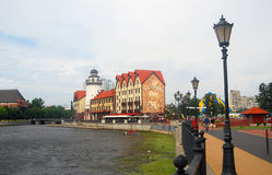 City center of Kaliningrad Stock Image