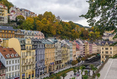 City center of Karlovy Vary Royalty Free Stock Photography
