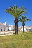 City center of Lagos in Portugal Stock Photography