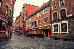 City center of Liverpool, UK Stock Photography