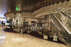 City Center lounge area in Las Vegas, NV on August 06, 2013 Royalty Free Stock Photography