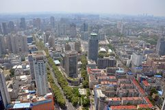 City center of Nanjing, China Stock Photos