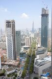 City center of Nanjing, China Stock Photography