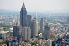 City center of Nanjing, China Royalty Free Stock Image