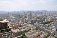 City center of Nanjing, China Royalty Free Stock Photography
