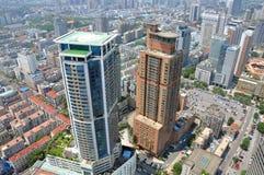 City center of Nanjing, China Stock Photo