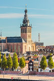 The city center of the old Dutch city of Nijmegen Royalty Free Stock Photos