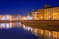 City center of Pisa, Italy Stock Photo