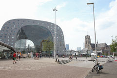 City center of Rotterdam, The Netherlands Royalty Free Stock Image