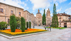 City center of Salamanca, Castilla y Leon region, Spain Stock Image