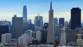 City center of San Francisco, California Royalty Free Stock Image