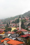 The city center of Sarajevo, Bosnia and Herzegovina Stock Photo