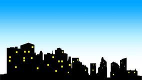 City center skyline Stock Photo