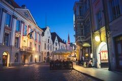 City center of Tallinn, Estonia Royalty Free Stock Images