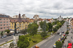 City center of Targu Mures Royalty Free Stock Images