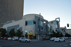 City Center on 6th Koreatown Mall Los Angeles. Koreatown Mall Los Angeles 2015 Stock Image