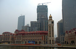 City center, Tianjin, China Stock Photos