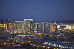 City Center Vegas Dusk Royalty Free Stock Photo