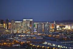 City Center Vegas Dusk Royalty Free Stock Photo