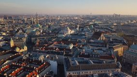 City center of Vienna stock video