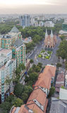 City center. View of  Ho Chi Minh city. Ho Chi Minh City has the most dynamic economy in Vietnam Stock Image