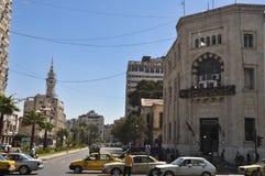 City center before the war Damascus Royalty Free Stock Photos
