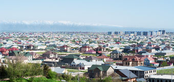 The city in Central Asia Royalty Free Stock Photography