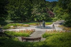 City central park in Maribor, Slovenia Royalty Free Stock Photography