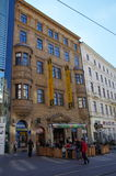 The city centre Brno on April 30, 2016. Brno is the second largest city in the Czech Republic Royalty Free Stock Image