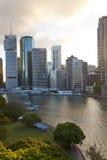 City centre & central business district. Brisbane stock photo
