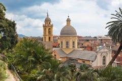 City Centre of Chiavari, Italy Stock Image