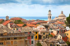 City Centre of Chiavari, Italy Stock Photos