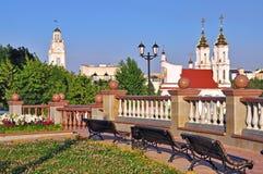 City centre landscape of Vitebsk, Belarus Royalty Free Stock Photo