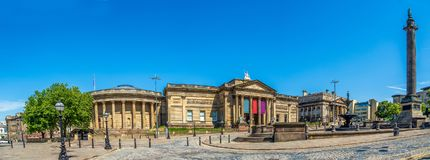 Liverpool Museum Campus royalty free stock images