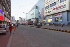 City Centre mall K.S.Rao road, Mangalore, Karnataka, India. Stock Photo