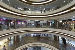 City Centre mall K.S.Rao road, Mangalore, Karnataka, India. Royalty Free Stock Photos