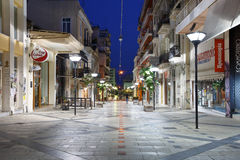 City centre of Patras. Stock Image