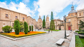 City centre of Salamanca, Castilla y Leon, Spain Stock Image