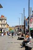 City Centre Shopping street, Liverpool. Stock Photos