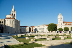 City centre of zadar Stock Images